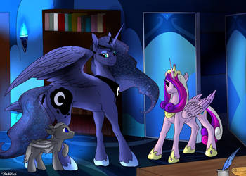 Meeting Cadance by Backlash91