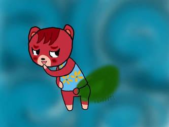 My dreamy Cheri farting (Not my art) by FartingBoy