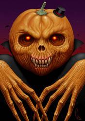 Mr. pumpkin by AlMaNeGrA