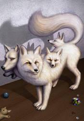 WHITE FOX GOD - part 5 -END by AlMaNeGrA