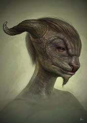 goatman by AlMaNeGrA