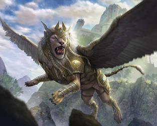 LION AURITE by AlMaNeGrA