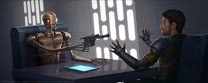 Double crossing droid by AlMaNeGrA