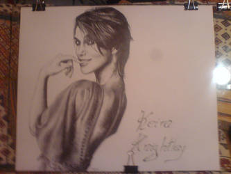 Keira Knightley by Zajop