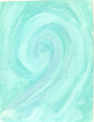 Wave - Watercolor by KyMatheson