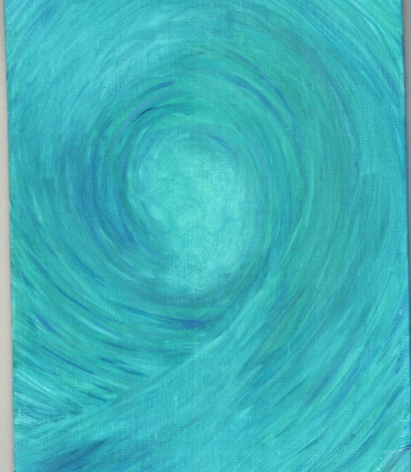 Wave (remake) - Acrylic and/or Oil by KyMatheson