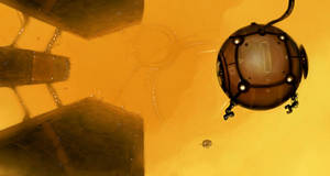 SSE Art 04: Orange gas giant by IgnusDei