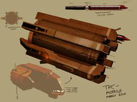 SSE:E Art 01: Mobile Nuke Silo by IgnusDei