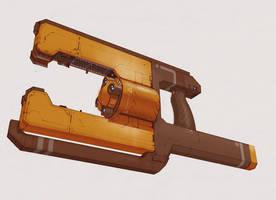 E-Laser Prototype by IgnusDei