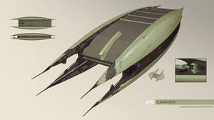Xenonauts: UFO Carrier by IgnusDei
