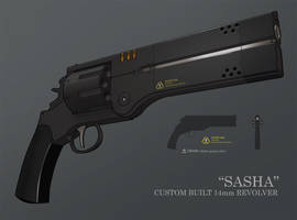 Sasha 14mm Custom Hybrid revolver by IgnusDei