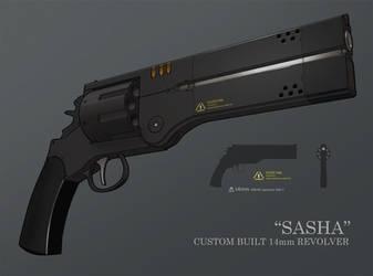 Sasha 14mm Custom Hybrid revolver by IgnusDei