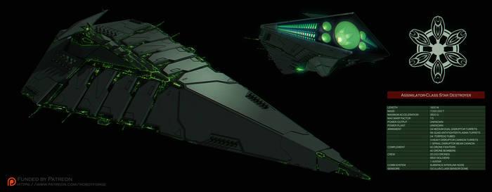 Assimilator-Class Star Destroyer by IgnusDei