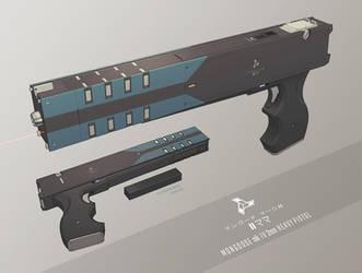 MEHR Mongoose 2mm Heavy Pistol by IgnusDei