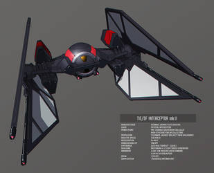 First Order Tie Interceptor mk II by IgnusDei