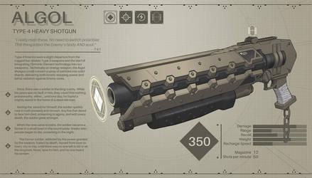 'Algol' Type 4 Shotgun by IgnusDei