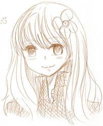 claire:sketch by sarylya