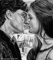 Harry and Ginny by Fantaasiatoidab