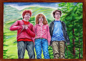 The Golden Trio by Fantaasiatoidab