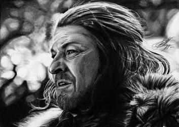 Eddard Stark by Fantaasiatoidab