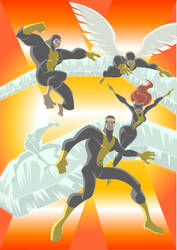 XMEN First Class by Apollorising