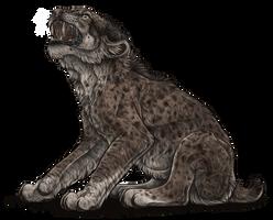 Fierce Smilodon Cub by Riixon
