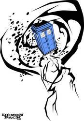 Tribal TARDIS by demonpack