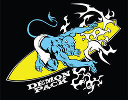 Surfer Demon by demonpack