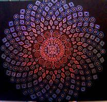 Fibonacci Mandala 2 by TravisAitch