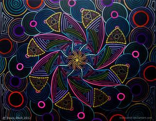 Mandala Chidvyoman by TravisAitch