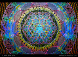 Mandala Abhasa (Holographic - Bright Lighting) by TravisAitch