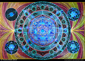 Atomic Mandala by TravisAitch
