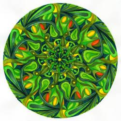shiva mandala by lunelac