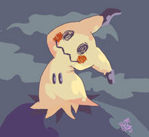 Mimikyu, The Quiet and Lonely. by FlyingGopher45686