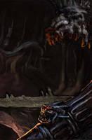 Minas Moira's bridge - detail by CARUTOONS