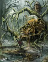 Swamp Potion Shop by Jcinc1