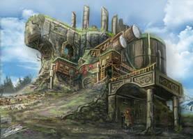 Fantasy Observatory by Jcinc1