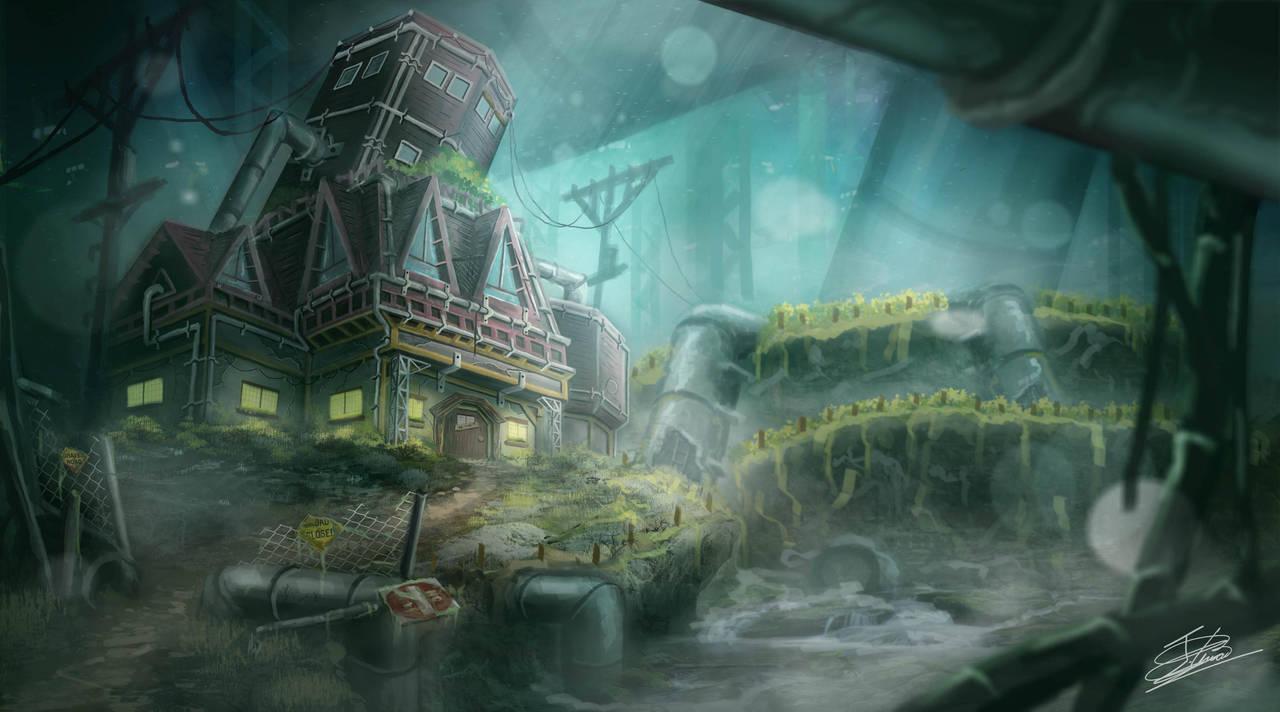 Final Fantasy VII - Aerith House by Jcinc1