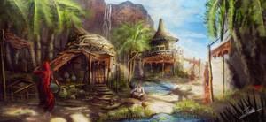 Desert Village by Jcinc1