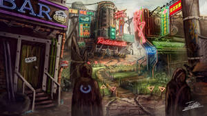 Cyberpunk Desert by Jcinc1