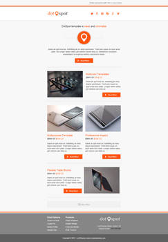 DotSpot - Responsive Email Template by lordthemes