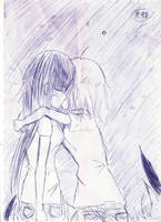 Mio and Ritsu by Mikichin