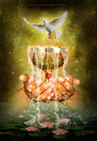 Minor Arcana - Ace of Cups by Georgina-Gibson