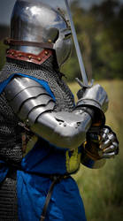 Medieval Knight 8 by Georgina-Gibson