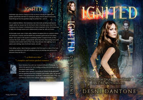 Book Cover: Ignited Book I by Desni Dantone by Georgina-Gibson