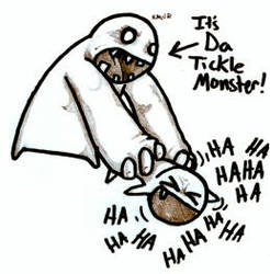 Tickle Monster by ThePadlokChild