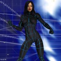 Cyborg Lin by hotrod5