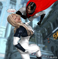 SovietSuperwoman vs Ultrawoman by hotrod5