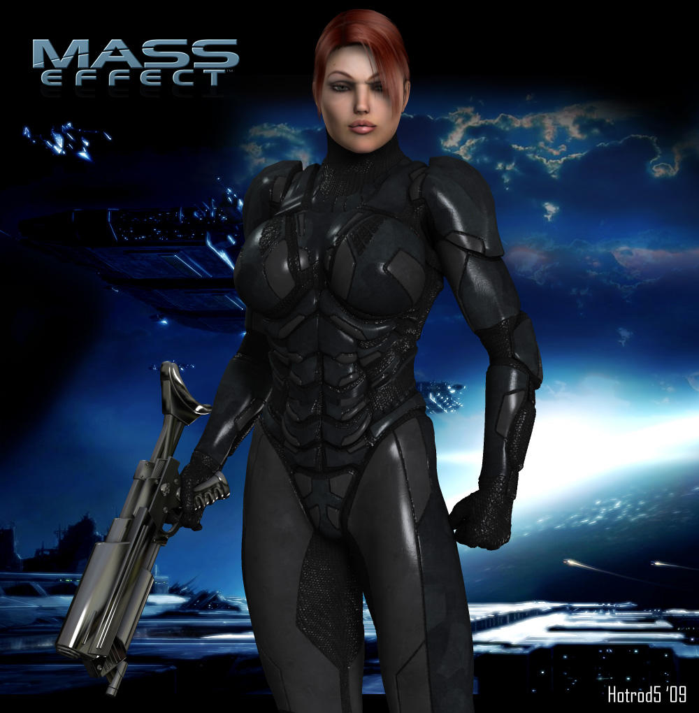 Commander Angie Shepard by hotrod5