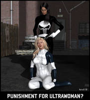 Ultrawoman vs LFP Poster 02 by hotrod5